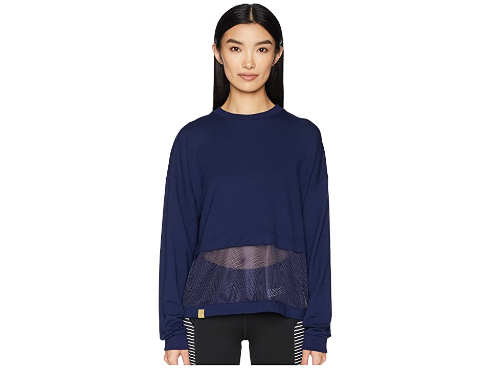 Monreal London Long Sleeve Airstream Sweatshirt (Indigo) Women
