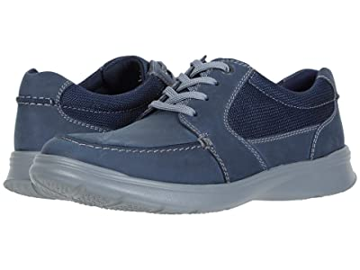 Clarks Cotrell Lane (Navy Combi Leather) Men