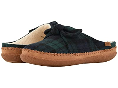 TOMS Ivy (Spruce Plaid Felt/Bow) Women