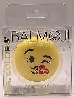 L.A. Colors Balmoji # 41868 XOXO Kissy Face Emoji Cherry Scented Lip Balm