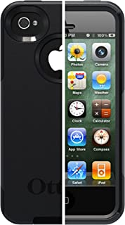 OtterBox Commuter Series Case for iPhone 4/4S - Retail Packaging - Black (Discontinued by Manufacturer)