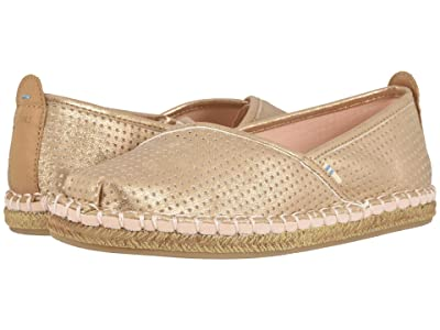 TOMS Petra (Champagne Shimmer Synthetic) Women