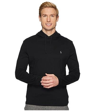 Polo Ralph Lauren Hooded Jersey Tee (Polo Black) Men