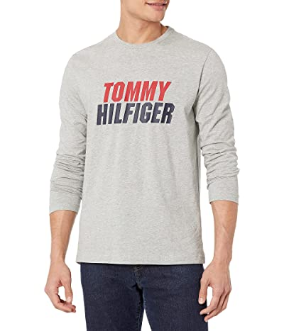 Tommy Hilfiger Long Sleeve Crew Neck Graphic T Shirt