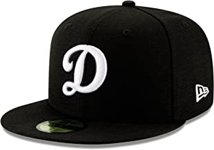 100% Authentic NWT, Los Angeles LA D Dodgers Black Hat, White Logo Very Rare Limited 95fifty Fitted Hat