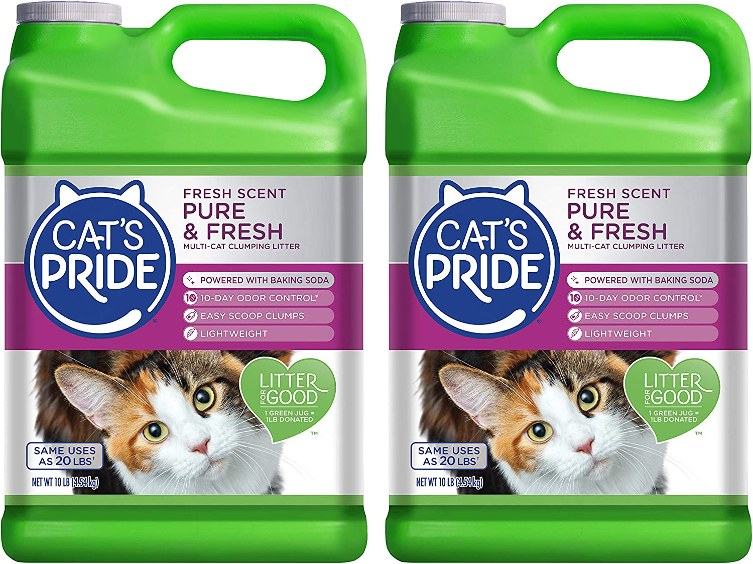 Cat's Pride Fresh Scent Elegant Multi-Cat Pure Clumping Litter Spring new work one after another
