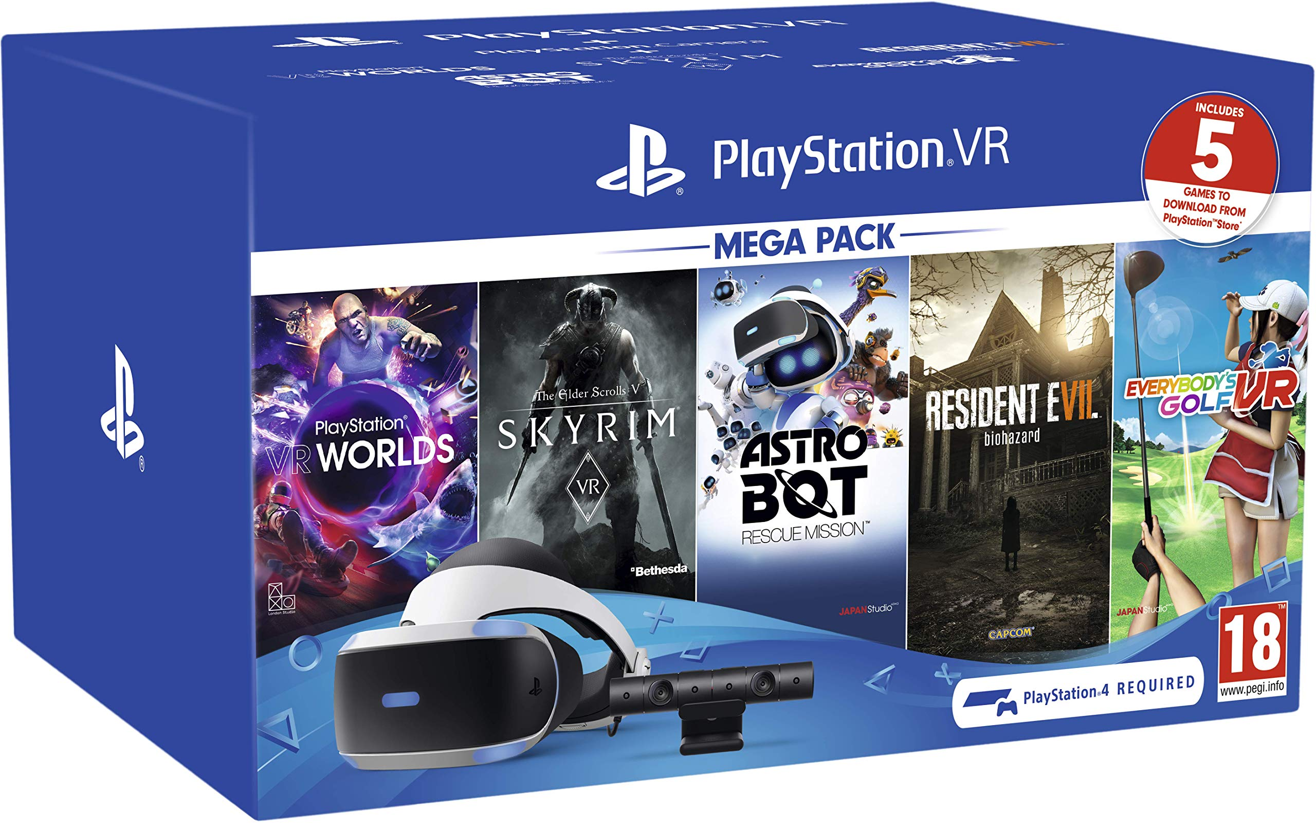 PlayStation VR Mega Pack - PlayStation 4 [Importación inglesa]: Amazon.es: Videojuegos