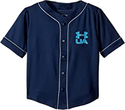 Under Armour Kids - Homerun Baseball Jersey Short Sleeve (Toddler)