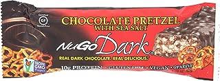 Nugo, Bar Dark Chocolate Pretzel, 1.76 Ounce