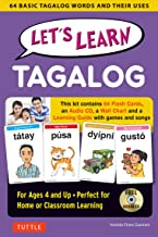 Let's Learn Tagalog Kit: A Fun Guide for Children's Language Learning (Flashcards, Audio CD, Games & Songs, Learning Guide and Wall Chart)