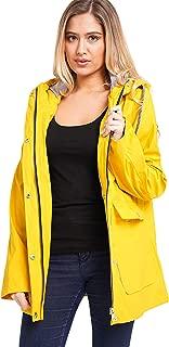 NOROZE Women Waterproof Raincoat Jacket
