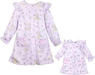 Disney Animators' Collection Rapunzel Sleep Gown Set for Kids and Doll Multi
