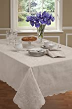 Lenox French Perle Tablecloth 70 Round
