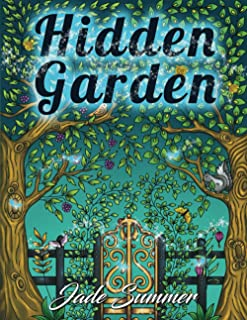 Best Hidden Garden: An Adult Coloring Book with Magical Floral Patterns, Adorable Animals, and Beautiful Forest Scenes for Relaxation Reviews