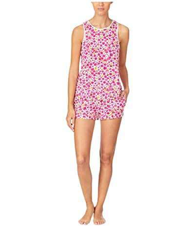 Kate Spade New York Modal Jersey Shorts Tank PJ Set (Marker Floral) Women