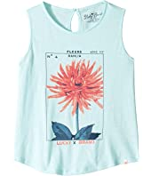 Lucky Brand Kids - Sleeveless Floral Stamp Tank Top (Big Kids)