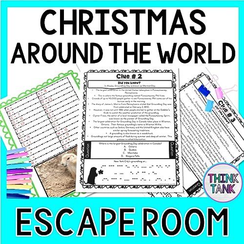 Christmas around the world escape room