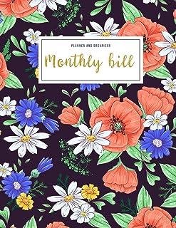 Monthly Bill Planner and Organizer: budget my money | 3 Year Calendar 2020-2022 Budget Planning, Financial Planning Journa...