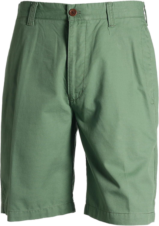 New mail order IZOD SOHO Men's Fort Worth Mall Green Shorts Front Flat Walking