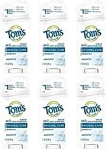 Tom's of Maine Original Care Deodorant, Natural Deodorant, Deodorant, Unscented, 2.25 Ounce, 6-Pack
