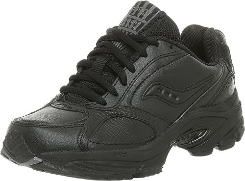 Saucony Wohommes Grid Omni Walker en marchant chaussures,noir,10 N