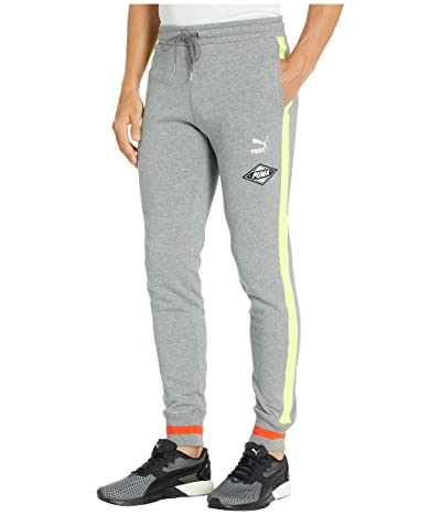PUMA LuXTG Luxe Sweatpants (Medium Gray Heather) Men
