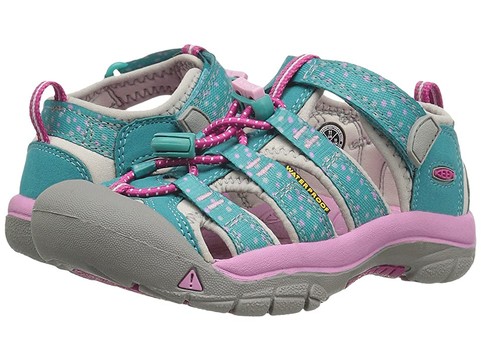 Keen Kids Newport H2 (Toddler/Little Kid) (Viridian Dots) Girls Shoes
