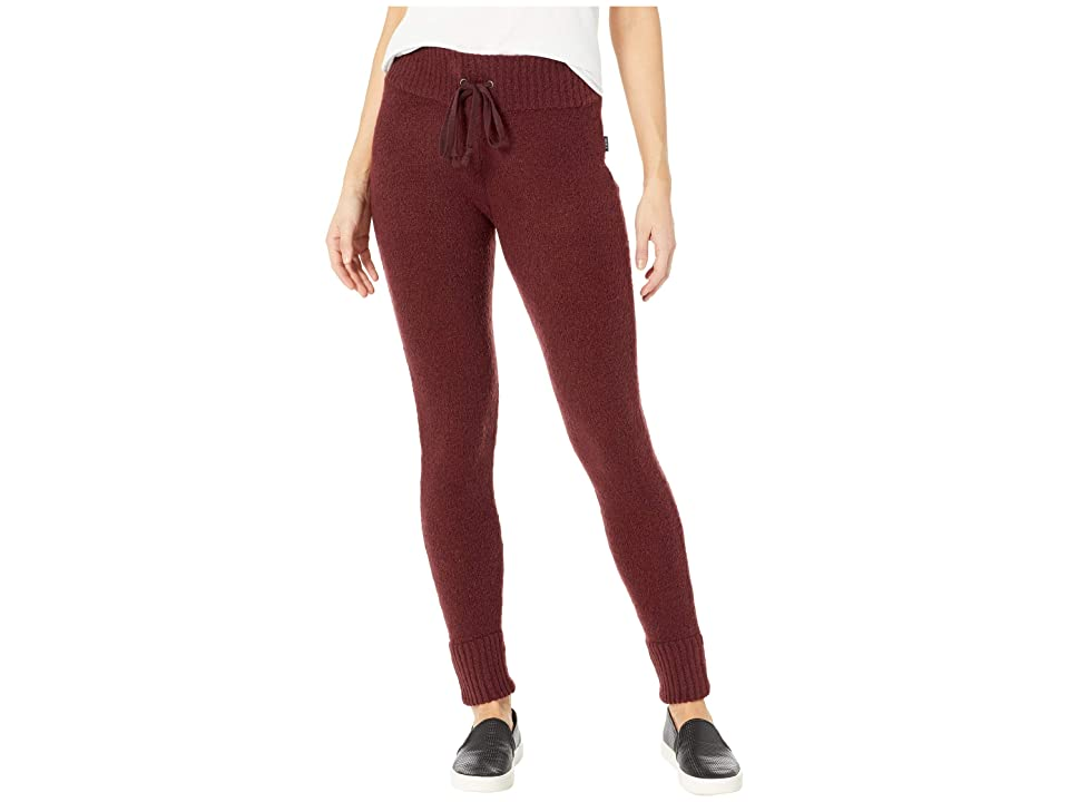 RVCA Creepin Sweater Knit Leggings (Magenta Fade) Women