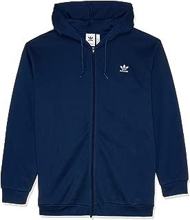 adidas Men's Trefoil Fleece Hoodied Jacket