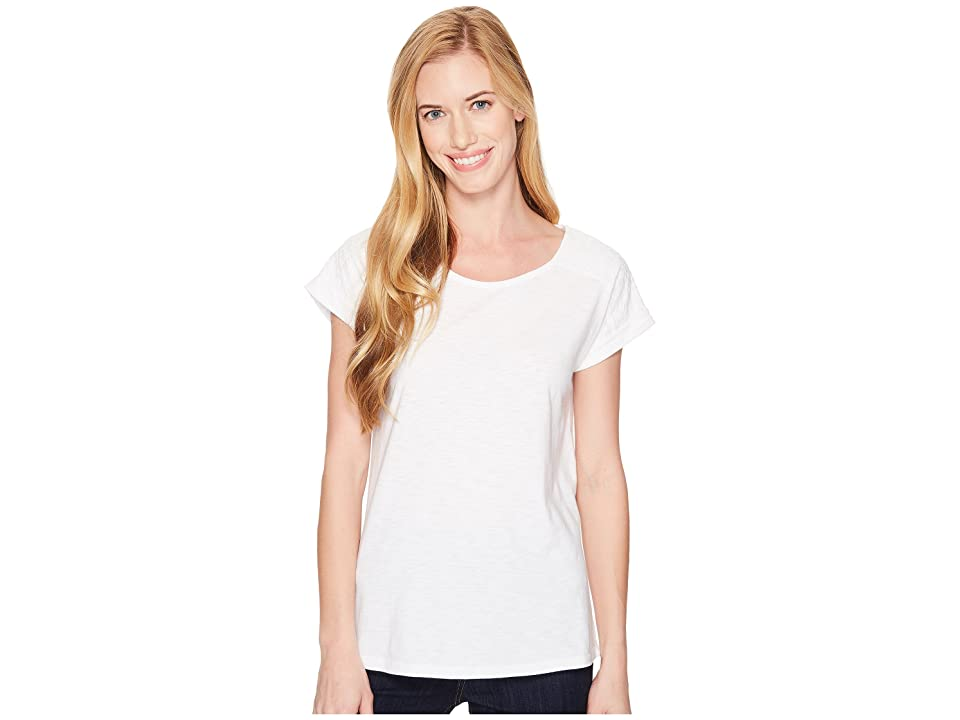 Aventura Clothing Susanna Short Sleeve Top (White) Women