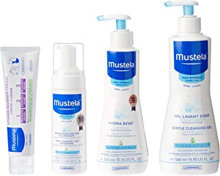 Mustela Welcome Home Baby Set - Newborn Essentials for Normal Skin