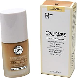 IT Cosmetics Confidence in a Foundation, Light Tan