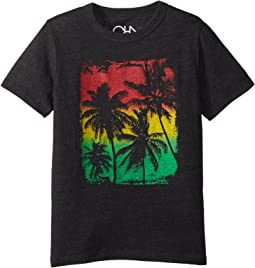 Super Soft Palm Breeze Rasta Tee (Little Kids/Big Kids)