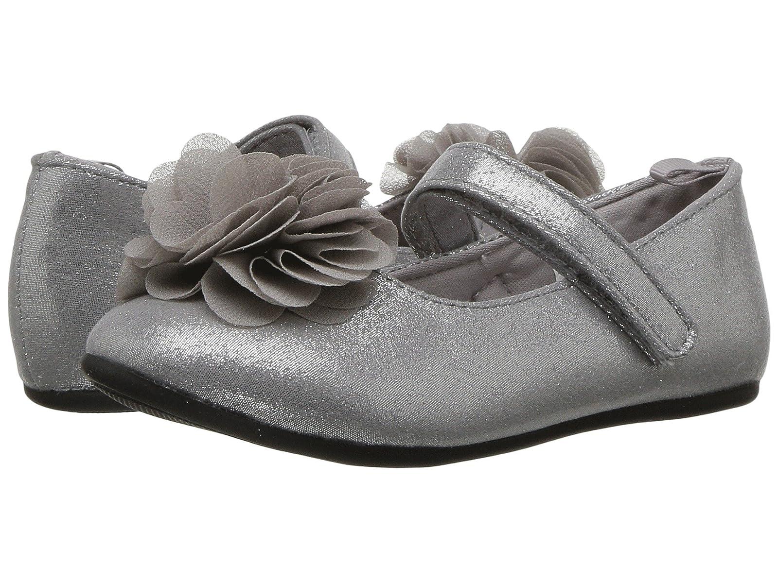 Baby Deer First Steps Dress Flat with Flower (Infant/Toddler)Atmospheric grades have affordable shoes