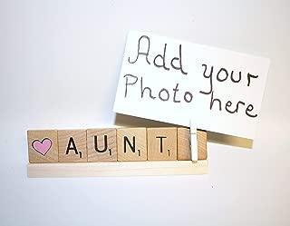 Aunt Frame, Aunt Photo, Aunt Gift, Aunt Birthday, Auntie, Auntie Frame, Love Aunt, Love Auntie, Baby Announcement, New Baby, Niece Gift, Nephew Gift