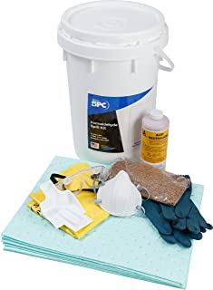 Sorbent Products Company SK-Form Brady SPC Formaldehyde Spill Kit, 9 gal Absorbency, 18