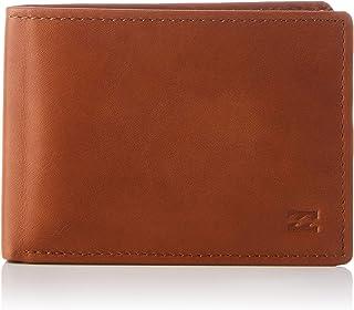 BILLABONG Vacant Leather-Wallet for Men, Accessorio da Viaggio-Portafoglio Pieghevole in Tre Parti Uomo