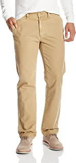 Quality Durables Co. Men's Cotton Relaxed Fit Chino Pant