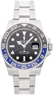 Rolex GMT Master II Mechanical (Automatic) Black Dial Mens Watch 116710BLNR (Certified Pre-Owned)