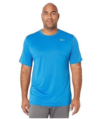 Nike Big Tall Dry Tee Legend 2.0 (Battle Blue/White) Men