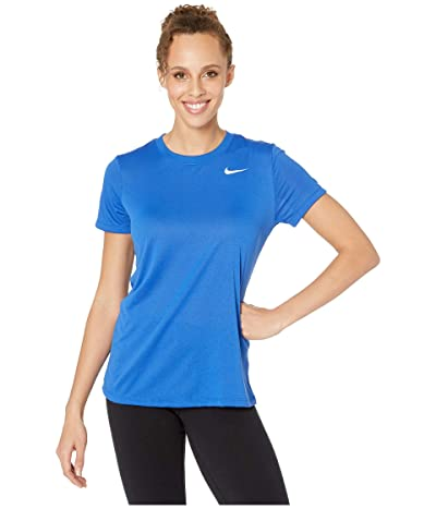 Nike Dry Legend Tee Crew (Game Royal/White) Women