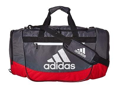 adidas Defender III Medium Duffel (Scarlet/Grey Six/Black/White) Bags