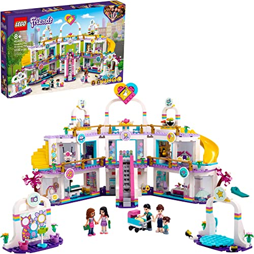 lowest LEGO Friends Heartlake City Shopping Mall 41450 Building Kit; Includes Friends Mini-Dolls to Spark lowest Imaginative Play; Portable Elements Make This popular a Great Friendship Toy, New 2021 (1,032 Pieces) sale