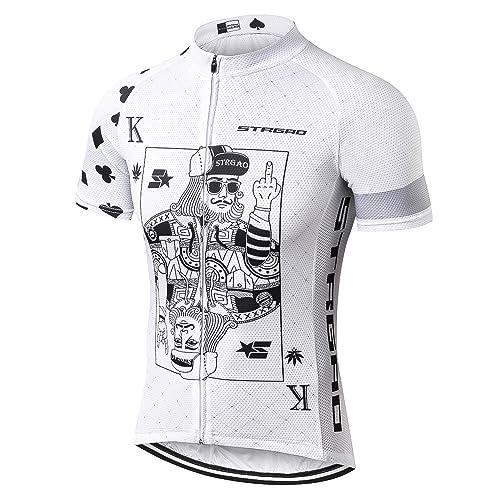 MR Strgao Men s Cycling Jersey Bike Short Sleeve Shirt dac915588
