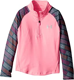 Under Armour Kids - Wordmark 1/4 Zip (Little Kids)