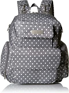 JuJuBe Be Nurtured Large Breast Pump Backpack, Classic Collection - Dot Dot Dot