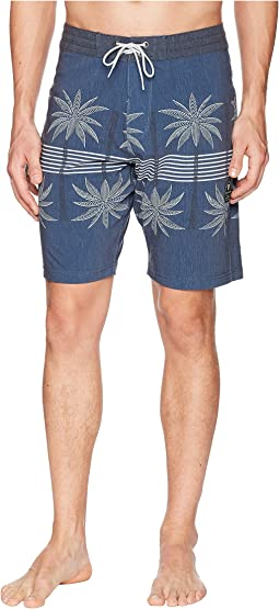 Coconut Grove Four-Way Stretch Boardshorts