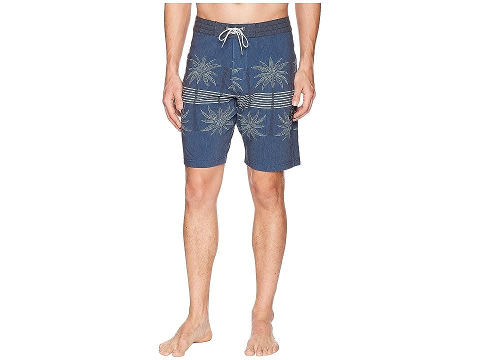 VISSLA Coconut Grove Four-Way Stretch Boardshorts (Dark Denim) Men
