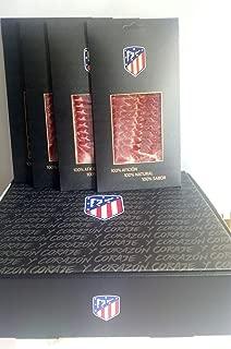 Lote de 10 Bandejas de Loncheado de Paleta Bellota 100% Ibérico, Atlético de Madrid