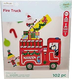 Seasonal Christmas Holiday Assorted Christmas Craft Kits (Fire Truck)